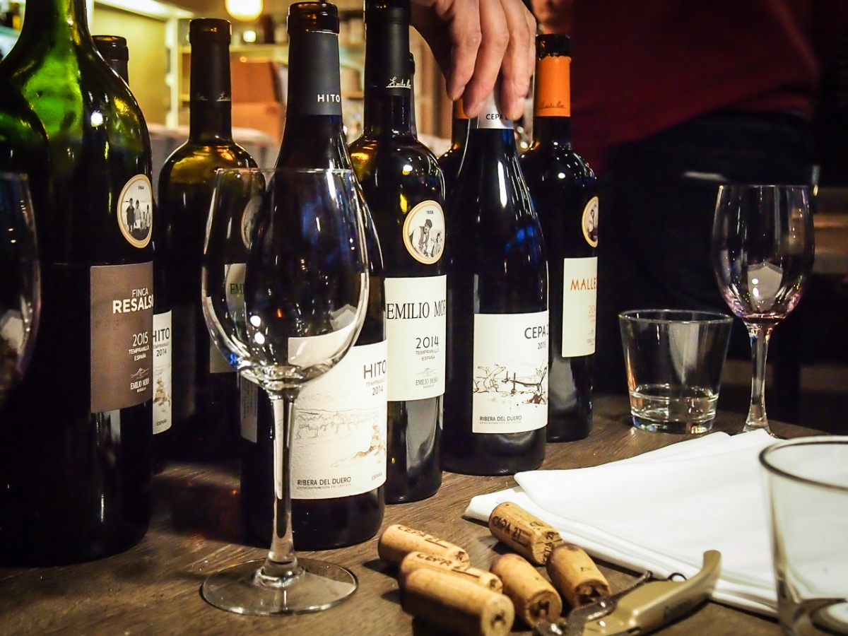 Emilio Moro wine makers dinner Bistro O mat