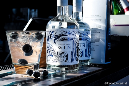 Sauce 2018 networking cocktails by Arctic Blue Gin | ravintolatarinat.fi